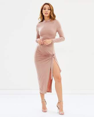 Missguided Slinky Midi Dress