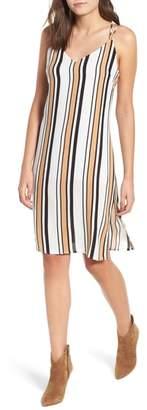 LIRA Dunlap Stripe Slipdress