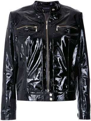 Olympiah patent jacket