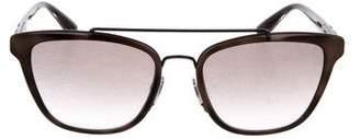 Burberry Gradient Square Sunglasses