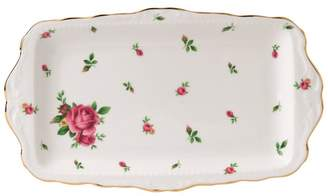 Royal Albert New Country Roses White Sandwich Tray