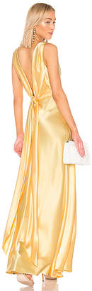 Jill Stuart Front Gathered Gown
