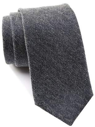 Ben Sherman Ledbury Chevron Solid Tie