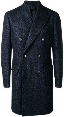 Barba classic buttoned coat