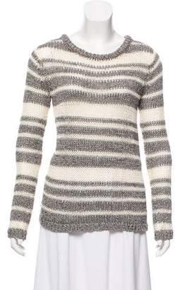 Rag & Bone Striped Rib Knit Sweater