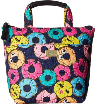 Luv Betsey Grub Cotton Insulated Lunch Cooler $48 thestylecure.com