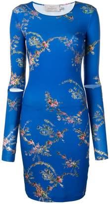 Preen by Thornton Bregazzi floral print mini dress