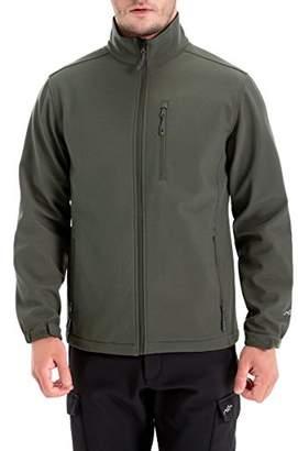 Co Trailside Supply Men's Windproof Softshell Zip-Front Fleece-Lined Jacket (-4XL)
