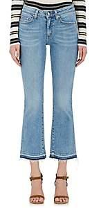 Derek Lam 10 Crosby Women's Gia Crop Flared Jeans - Lt. Blue