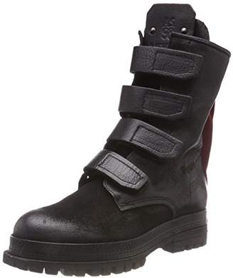 A.S.98 Women's Blade 18 Combat Boots, Black Nero 101 0002