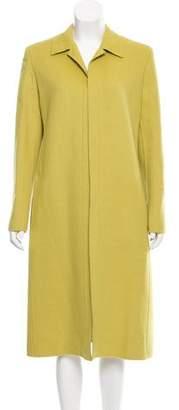 Valentino Long Wool-Cashgora Coat w/ Tags