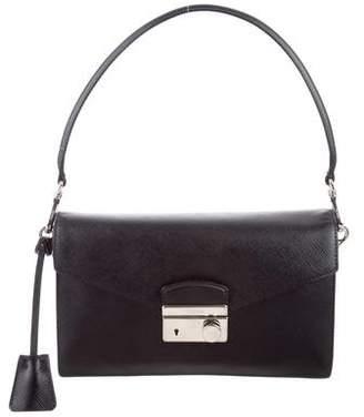 Prada Saffiano Sound Line Shoulder Bag