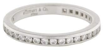 Tiffany & Co. Platinum Diamond Eternity Wedding Band