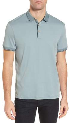 Ted Baker Pug Trim Fit Stripe Polo