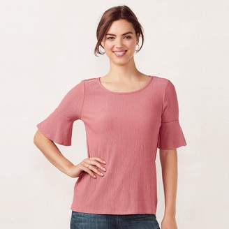 Lauren Conrad Women's Love, Lauren Printed Bell Tee