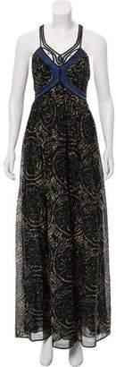 3.1 Phillip Lim Silk Printed Maxi Dress