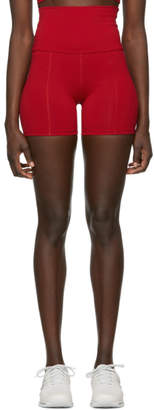Live the Process Red Geometric Shorts
