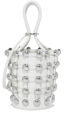 Alexander Wang Mini Roxy Bucket Bag $595 thestylecure.com