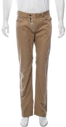 Dolce & Gabbana Tonal Striped Pants