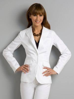 City Stretch Jacket - White