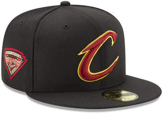 New Era Cleveland Cavaliers Metallic Diamond Patch 59FIFTY Fitted Cap