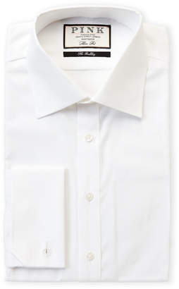 Thomas Pink Slim Fit Weston Long Sleeve Dress Shirt