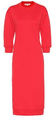 Tibi Cotton-blend sweatshirt dress