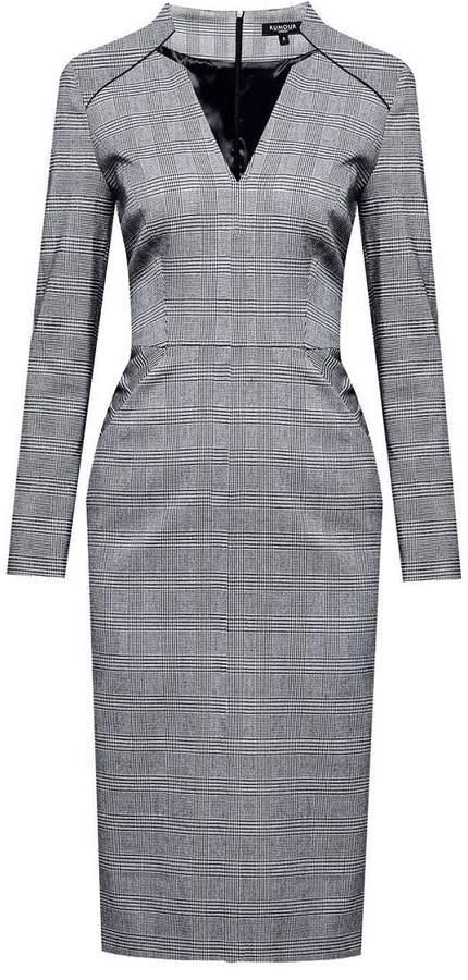 Rumour London - Georgia Prince Of Wales Check Dress