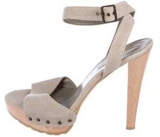Stella McCartney Canvas Platform Sandals