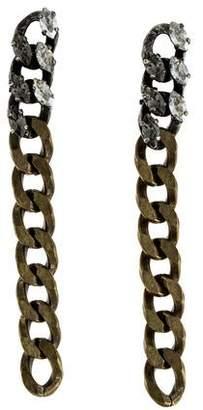 Lanvin Crystal Susan Drop Earrings