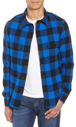 Frame Classic Fit Buffalo Plaid Shirt Jacket