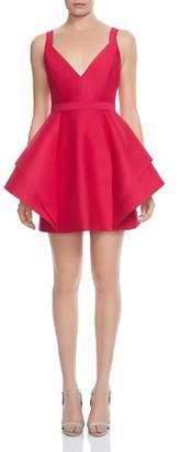 Halston Structured Mini Dress