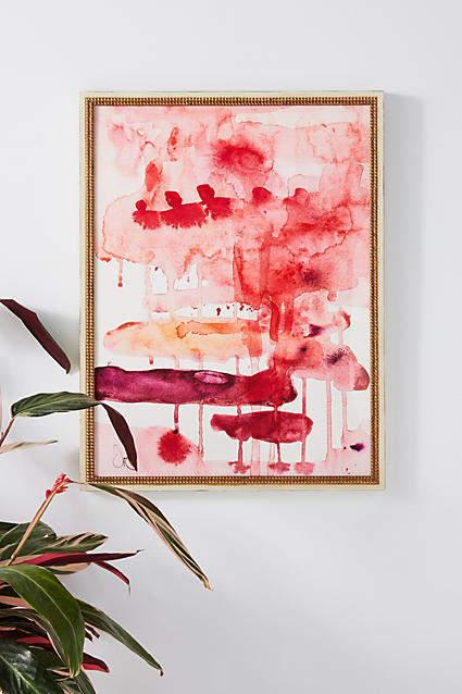 Artfully Walls Red Tears Wall Art