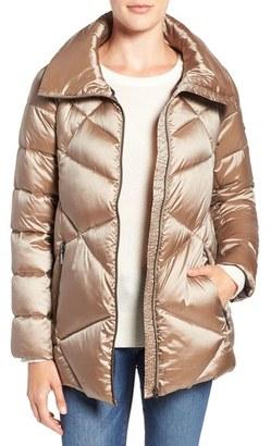 Bernardo Quilted Down & PrimaLoft ® Jacket $168 thestylecure.com