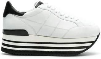 Hogan lace up sneakers