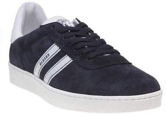 Versus New Mens Blue Casual Suede Trainers Lace Up