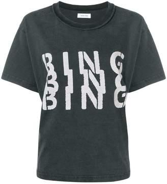 Anine Bing Bandit Bing Tシャツ