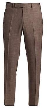 Ermenegildo Zegna Men's Wool Suit Trousers