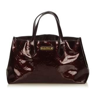 Louis Vuitton Purple Patent leather Handbag
