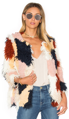 Tularosa Pfeiffer Faux Fur Coat $328 thestylecure.com