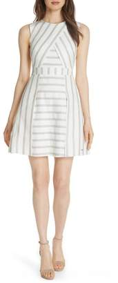 Ted Baker Colour by Numbers Cross Front Skater Dress