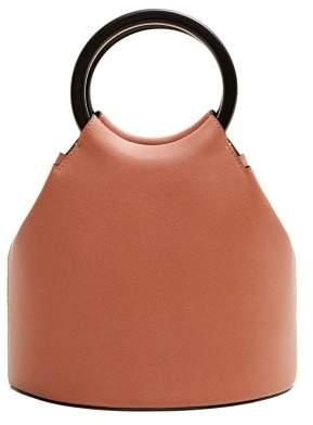MANGO Wooden handle bag