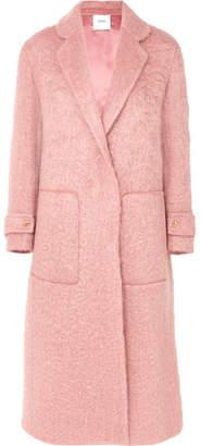 Agnona Mohair-blend Coat - Pink