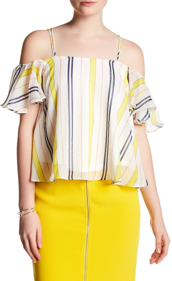 Jenn Clothing Vertical Stripe Tank