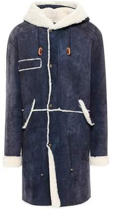 Mr & Mrs Italy Shearling Hooded Coat
