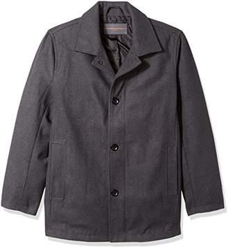 Hawke & Co Men's Lyndson Wool Melton Topcoat