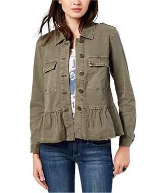 Lucky Brand Women's Peplum Utility Jacket