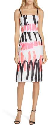 Milly Print Pencil Dress
