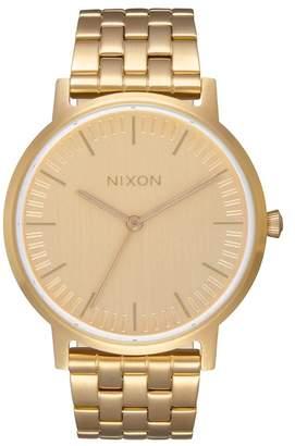 Nixon Porter 35 Miyota Quartz Bracelet Watch, 35mm