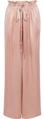 Sachin + Babi Silk-Satin Wide-Leg Pants